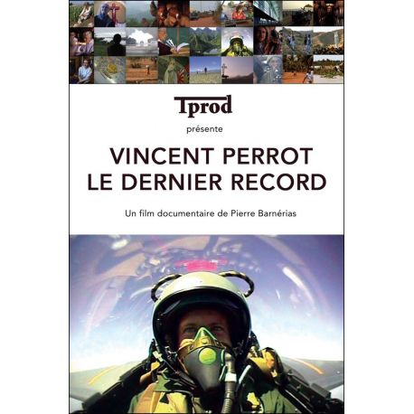 DVD Vincent Perrot, Le dernier Record - Documentaire TPROD