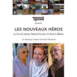 DVD : 3 doucmentaires de 26 minutes: La fée des oubliés - Soeur Cyclone, Le curé du Bronx