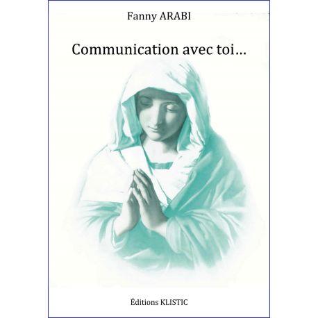 Communication avec Toi, livre communicaition avec la Vierge Marie