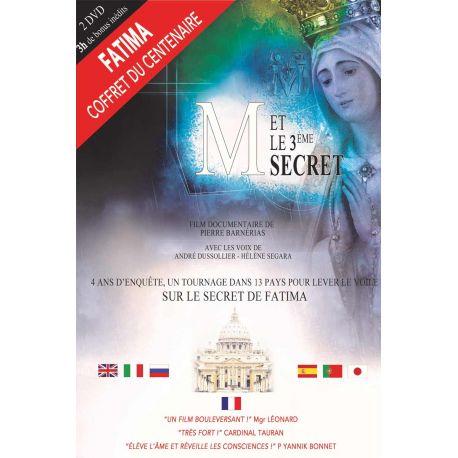 Double DVD M et le 3ème secret, multi langues sous-titré + 3h de bonus inédits
