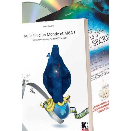 Pack Livre DVD: La fin d'un Monde et MôA + M et le 3e secret bonus