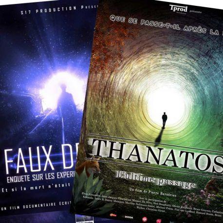 Pack DVD films EMI / NDE (Thanatos l'ultime passage, Faux départ)